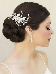 Hand Beaded Bridal Comb ~ Joyful - Bridal Hair Accessories, Wedding Headpieces, Bridal, Wedding, Hair Accessories, Headpieces, Combs, Clips, Hair Pins, Flowers, Headbands, Tiaras, Jewelry, Vintage, Beach - Hair Comes the Bride.