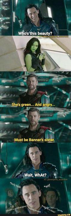 banner's sister?so funny #marvel #cosplayclass #TheAvengersinfinity