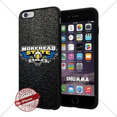"""NCAA Morehead State Eagles Cool iPhone 6 Plus (6+ , 5.5"""") Smartphone Case Cover Collector iphone TPU Rubber Case Black SHUMMA http://www.amazon.com/dp/B013Z1JF9C/ref=cm_sw_r_pi_dp_CyiWwb1MMG02C"""