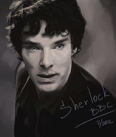 Sherlock BBC by ~AllenaOri on deviantART