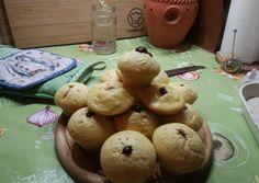 Túrós muffin, lekvárral töltve