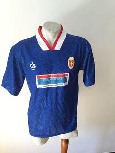 Maglia calcio como 1994 devis indossata football shirt matchworn jersey vintage