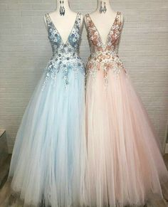 Product Description 1, If you have any question, please contact us below Email Address: abigailhu@outlook.com Pink Prom Dresses, Tulle Prom Dress, Formal Dresses, Long Evening Gowns, The Dress, Dress Long, Pink Fabric, Dress Making, Ball Gowns