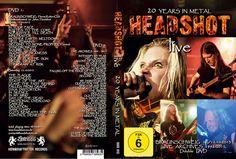 Headshot - 20 Years in Metal! Doppel DVD! Neuware!Lesen!