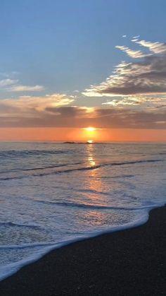 Ocean Sunset, Summer Sunset, Ocean Waves, Summer Gif, Beach Sunsets, Beach Sunset Wallpaper, Ocean Wallpaper, California Wallpaper, Beach Sunset Photography