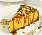 Pumpkin Orange Ginger Cheesecake