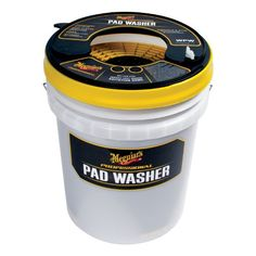 Meguiar's (WPW) Professional Pad Washer - http://www.productsforautomotive.com/meguiars-wpw-professional-pad-washer/
