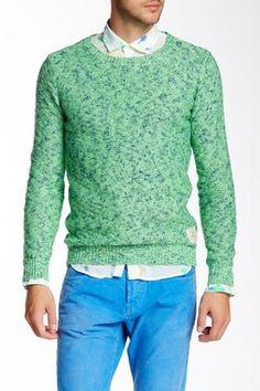 Marled Knit Sweater