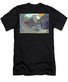 Swiss Alps - Men's T-Shirt (Athletic Fit)