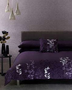 deep purple black bedding | BathAndBed.com - Fashion Bedding | Quilts | Duvet Covers & More.
