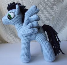 My Little Pony free crochet pattern by blogger Knit One Awe Some