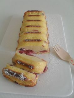 Cake à la semoule, au fromage blanc