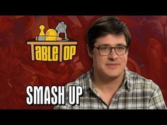 Smash Up: Rich Sommer, Cara Santa Maria, and Jen Timms join Wil on TableTop SE2E06 Video by Geek & Sundry on Youtube