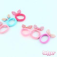 Ribbon Hairtie Set - 3 pcs
