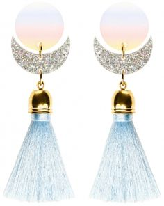 MORE is LOVE | Suzywan Deluxe - Cosmic Blue Earrings - Earrings