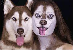 Dog And Girl - www.gifsec.com