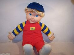 """My Buddy, My Buddy...  This doll gave my mom the creeps, but someone got it for my brother and since he HATED it, I took him over to be my toddler """"son"""".  It was a nice change from only having newborn girls."""