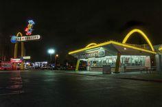 McDonalds Lakewood Blvd, Downey, 1953