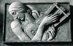 Jaroslav Horejc, classic Art Deco relief