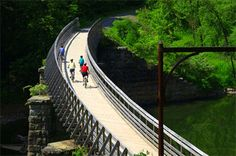 Great U.S. rail trails for biking and hiking... Greenbrier River Trail in West Virginia