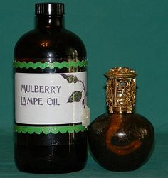 16 oz Mulberry Effusion Lamp Oil for Lampe by PamperedbyJenLeigh, $15.00
