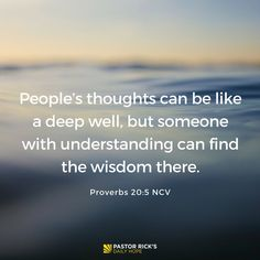 Wise people ask questions and then listen. Learn why, in this devotional from Pastor Rick Warren.