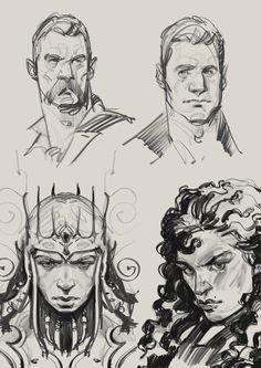 Borislav Mitkov - Illustration/Concept Art: Daily sketch