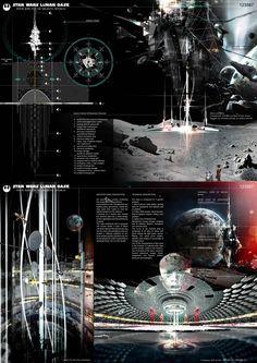 [A3N] : Starwars : Lunar Base (architecture & design competition) (1st prize :) / Sebastiano Maccarrone ( italy )