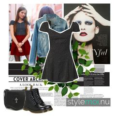 """""""""""Stylemoi"""" contest"""" by excogitatoris ❤ liked on Polyvore featuring Dr. Martens"""