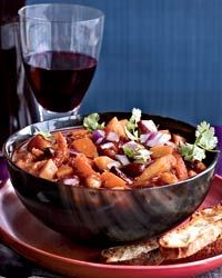 Winter Vegetable Chili Recipe on Food & Wine