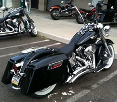 Hard Saddlebags For Heritage Softail | Saddle Bag Mounting Brackets for all year Softails