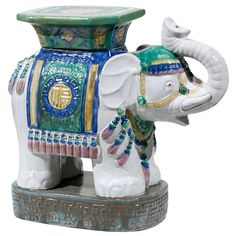 Elephant garden stool Elephant Garden Stools Pinterest