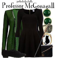 """Professor McGonagall"" by pickedadaytofly on Polyvore"