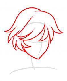 how to draw adrien agreste step by step