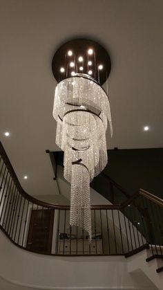 10+ Best Stairwell Chandeliers images | stairwell chandelier