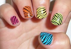 nails decoration animal print - Buscar con Google
