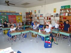 Our 2nd grade class has 16 students.  On Class Assignment Day families brought in their box tops that they saved over the summer.  13 of th 16 families brought in box tops.  I think THEY ROCK!! So we celebrated by giving each student a bag of pop rocks!  Their teacher rocks- and is on a roll so she got a bag of rolo's and a bag of pop rocks!  Keep up the great work!