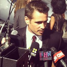 Colin Farrell at the 'Total Recall' premiere