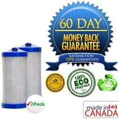 """Frigidaire 5303917752 Certified Green Refrigerator Water Filter 2 Pack by Frigidaire. $23.99. Carries WQA Gold Seal, Meets NSF/ANSI 42 Certification:Lasts for Over 8 Months!Certified Green Product.Shipped in Sanitary Sealed Bag, Pre Silicon Lub Applied, Ready to use!Specifically Made to fit your Fridge - Made in North America.Help save the environment with this eco-friendly """"green"""" filter. Compared to conventional carbon-based filters, Green filters are environmentally fr..."""