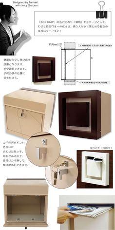 壁埋め込み型郵便ポストハコ(HA/CO)オリジナル! |郵便ポスト通販のジューシーガーデン