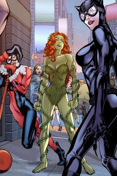 """News about """"Gotham City Sirens"""" Harley Quinn , Poison Ivy and Catwoman"""