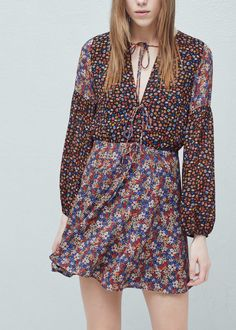 Floral print dress -  Women | MANGO USA