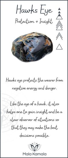 Pin To Save, Tap To Shop The Gem. What is the meaning and crystal and chakra healing properties of hawks eye? A stone for protection and insight.