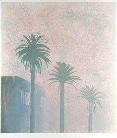 Weather Series - Mist, David Hockney