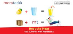 Same day delivery in Delhi NCR Pickup And Delivery Service, Beat The Heat, Delhi Ncr, Gift Store, Lemonade, Beats, App, Summer, Summer Time