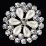 Victorian Pearl Rhinestone Flower Brooch Pin Bridal Jewelry with FREE Organza Gift Bag-Faux White Pearl Clear Rhinestone Flower Fashion Pin for Clothes-Wedding Brooches-Gift for Bridesmaids-Prom Jewelry-With FREE Organza Gift Bag / http://www.realweddingday.com/victorian-pearl-rhinestone-flower-brooch-pin-bridal-jewelry-with-free-organza-gift-bag-faux-white-pearl-clear-rhinestone-flower-fashion-pin-for-clothes-wedding-brooches-gift-for-bridesmaids-prom-jewel
