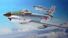 F-86D Sabre Dog JASDF (Shigeo Koike)