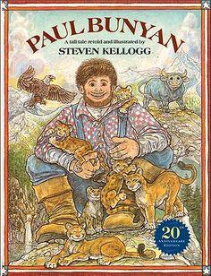 Paul Bunyan - Kellogg, Steven (Retold by)