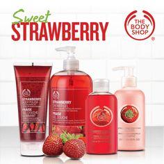 Sweet Strawberry #TheBodyShop