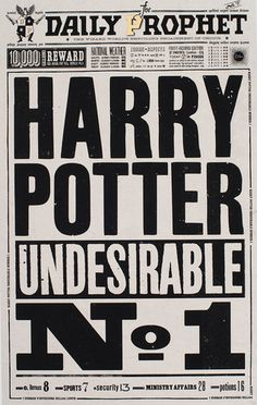 Great Article on the graphic designers behind the Harry Potter movies